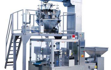 ավտոմատ սուրճ լոբի սննդի պտտվող կայծակաճարմանդ քսակ փաթեթավորման մեքենա