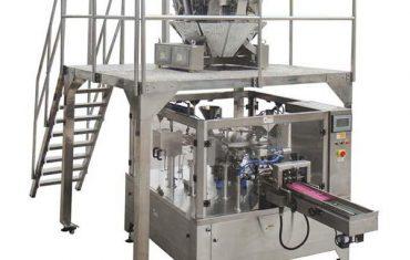 ավտոմատ պտտվող սննդի փաթեթավորման մեքենա կայծակաճարմանդ պայուսակ