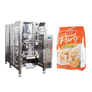 Full Automatic Food Quad կնքումը Bag փաթեթավորում մեքենա