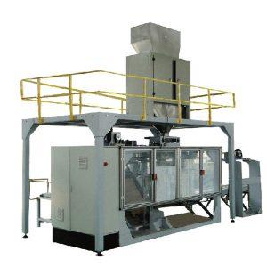 Բարձր ավտոմատացման փաթեթավորման մեքենա, փոշու մեծ պարկի լցոնման եւ կնքման գիծ, հեշտ է գործել