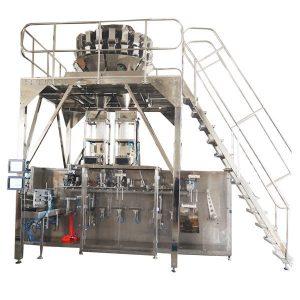 Հորիզոնական նախնական պատրաստված փաթեթավորող մեքենա, բազմաշերտ մասերի համար, տարաների համար