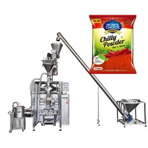 VFFS Bagger փաթեթավորում մեքենա օճառի լրացուցիչ համար պղպեղի եւ Chilli Food փոշի